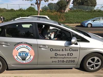 Kat Drives Away First Time