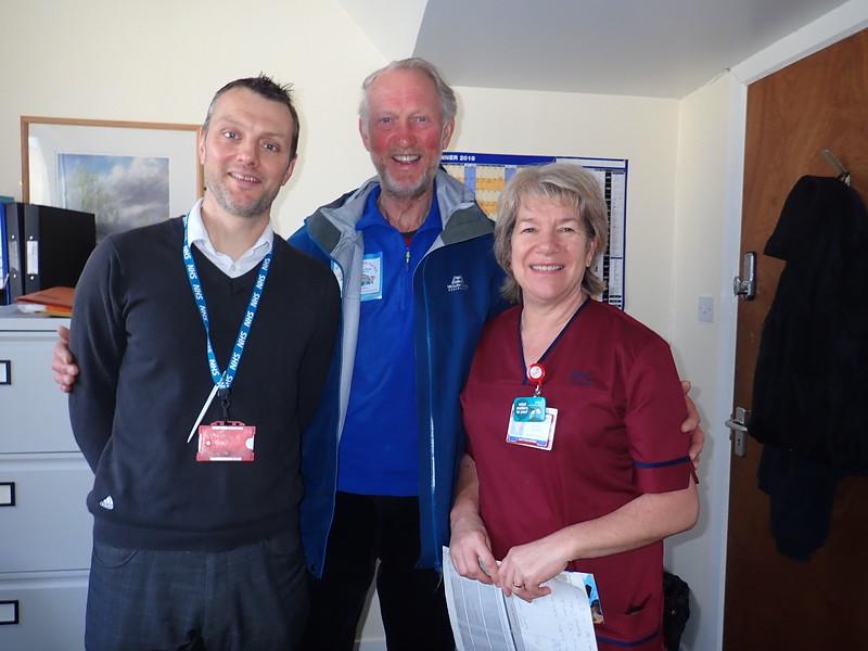 Meeting at Aberdeen Royal Infirmary