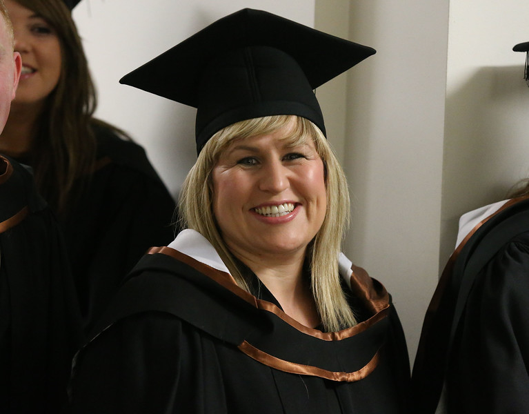 Pictured Lisa Burke, Waterford who graduated in Bachelor of Business (Honours). Picture: Patrick Browne