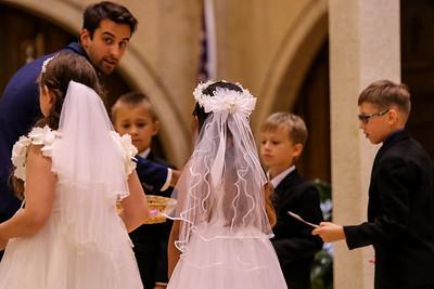 First Communion Aug 9 2020 Candids