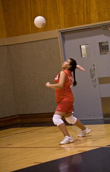 JH Girls' Volleyball - Feb 28 2008