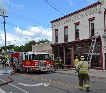 Commercial Building Fire - S. Main St, Canandaigua, NY - 8/10/19