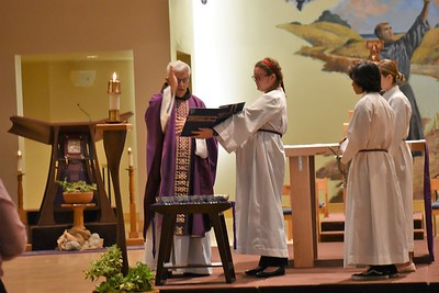 03-06-2019 5:30 PM Mass blessing of the Ashes