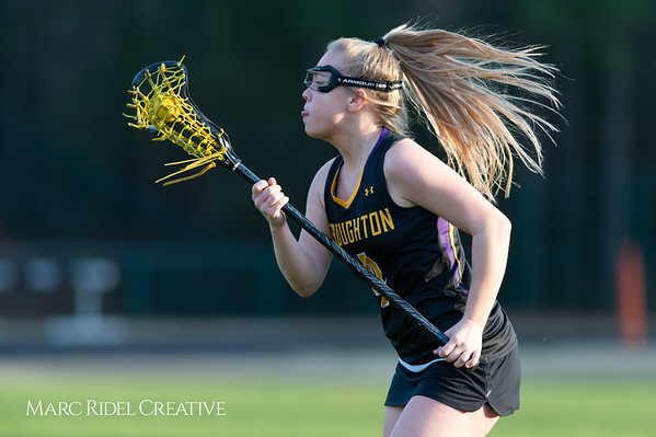 Broughton Lady Caps lacrosse at Middle Creek. February 26, 2019. D4S_1867