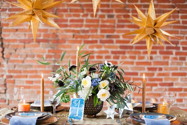 Snowy Stardust Colorado Styled Wedding Shoot