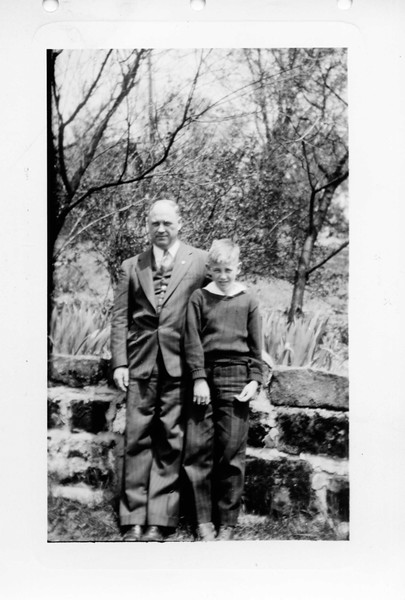 1943. Grandad James Harsha, Jim