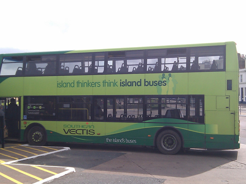 Island Living - on the bus!