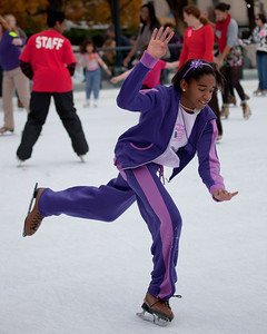 Sculpture Garden Ice Rink opening weekend (2011)