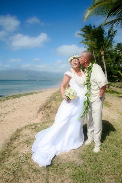 Frank and Debra Kihei Wedding