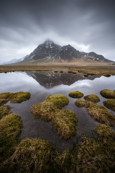 Kálfafellstindur Iceland Reflection landscape photography moody_1.jpg