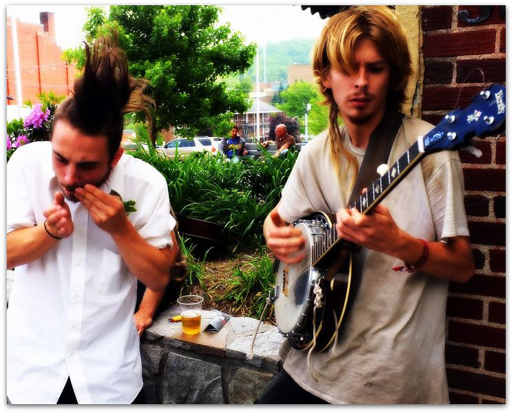 Street Music-   Boone NC