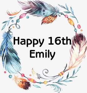 Emily's 16th
