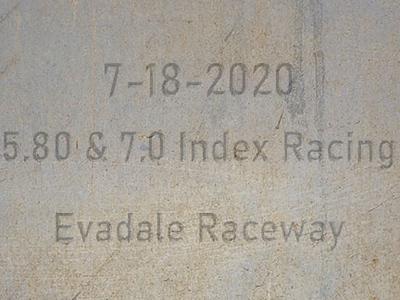 7-18-2020 Index racing at Evadale Raceway