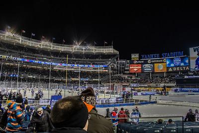 1-31-14 Rangers 2, Islanders 1 At Yankee Stadium