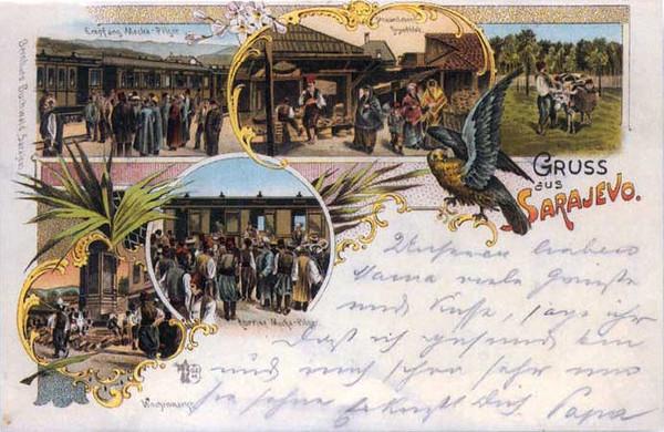 Ispracaj hadzija u Meku i Medinu na zeljeznickoj stanici u Bistriku i drugi detalji sa Carsijex.jpg