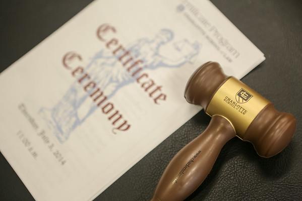 Charlotte School of Law Paralegal Graduation Spring 2014