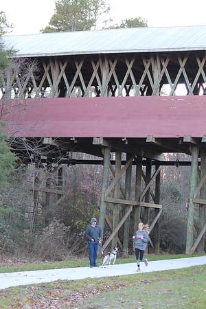 Tommy & Ripken.Covered Bridge