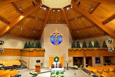 2012-01-06 Church Christmas Decor