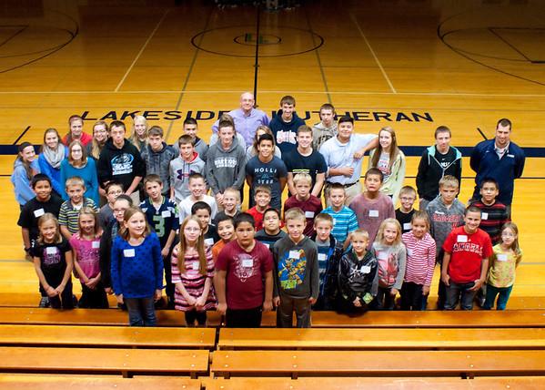 4th Graders at LLHS 2015