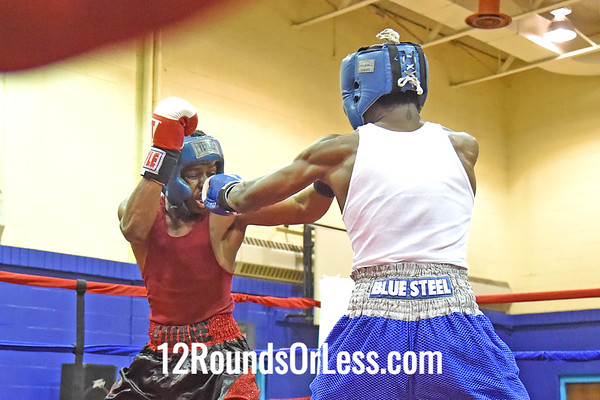 Bout 10 Armon Richards, Empire BC, Cleveland, Red Gloves -vs- Kemp Tarver, Blue Steel BA, Akron, 145 Lbs.