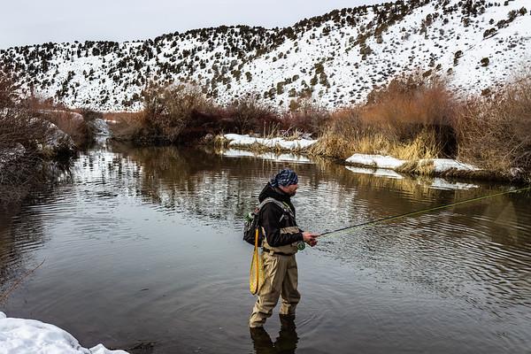 Portneuf River, Idaho March 9, 2019