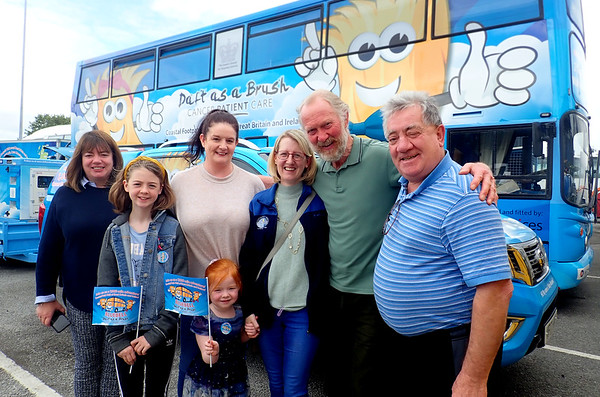 Special guests visit Bluebell Bus