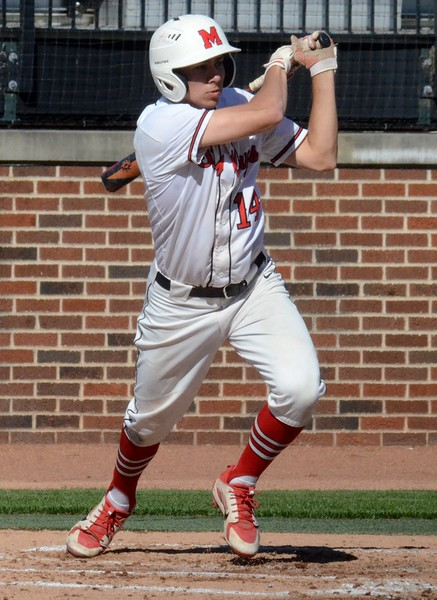 Stevensville Lakeshore defeated Orchard Lake St. Mary's, 3-0 in 10 innings in the Division 2 baseball semifinal at Michigan State University on Thursday. (Oakland Press photo gallery by Drew Ellis)