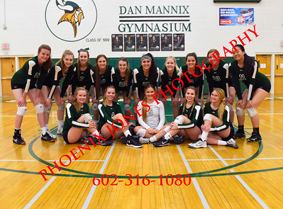 11-2-17 - Campo Verde vs. Sunnyslope (AIA 5A Quarterfinal) Volleyball Playoff