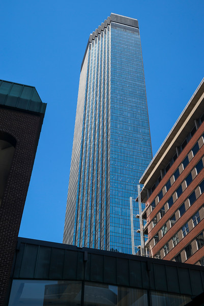 IDS Center tower at Downtown Minneapolis, Hennepin County, Minnesota, USA