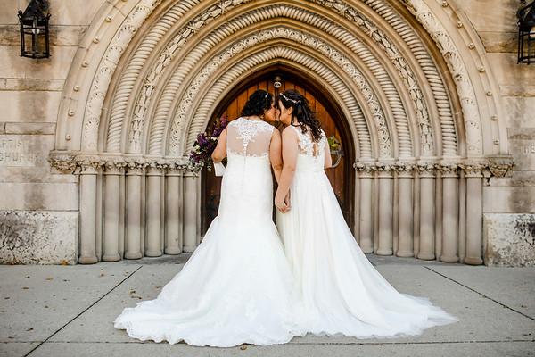 Brittany + Angel: Wedding