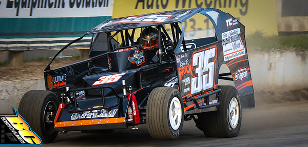 Lebanon Valley Speedway Practice - 4/24/21 - Bobby Chalmers