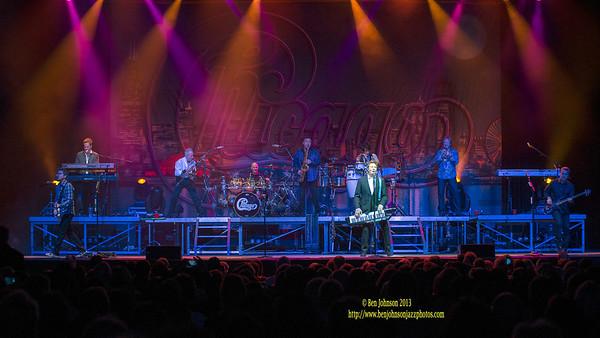 The Band Chicago at Borgata Atlantic City 2013