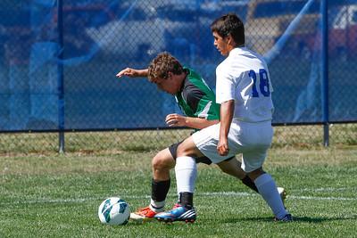DHS Boys Soccer 09-14-2013