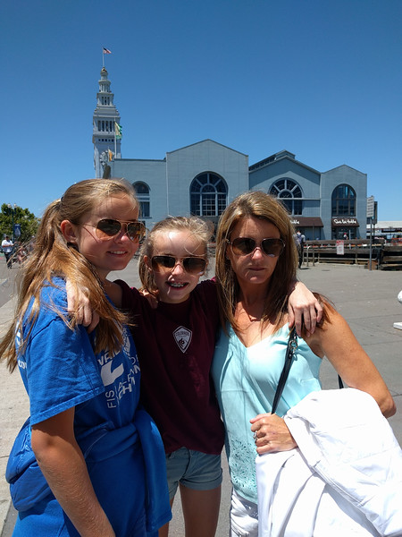 Wandering the waterfront with these three beauties