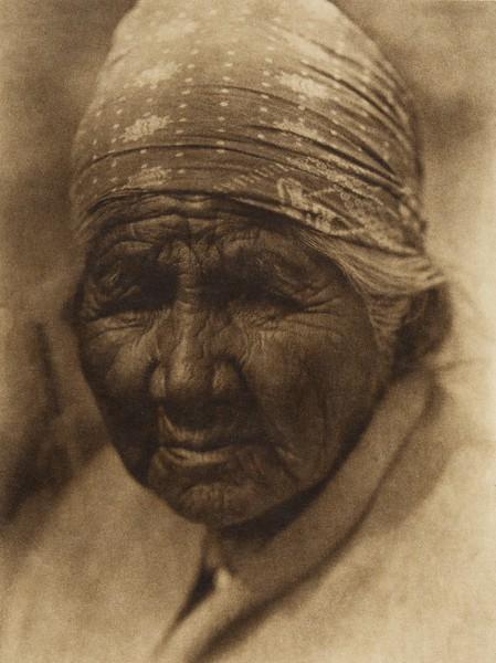 A Cupeño Woman  (The North American Indian, v. XV. Norwood, MA, The Plimpton Press, 1926)