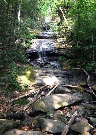 8/17/08 - Desoto Falls Hike, North of Dahlonega, GA