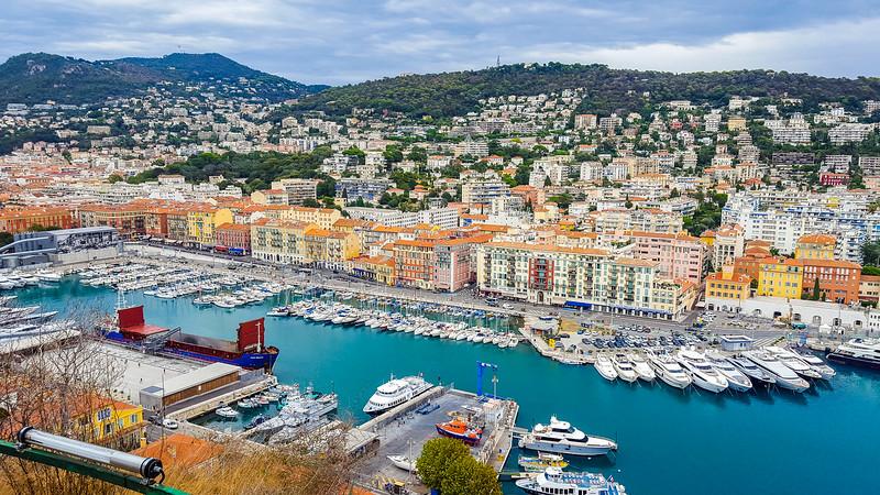 Port of Nice, France