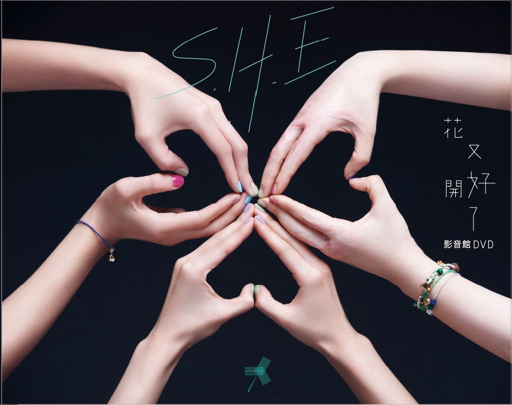 S.H.E 花又开好了 DVD