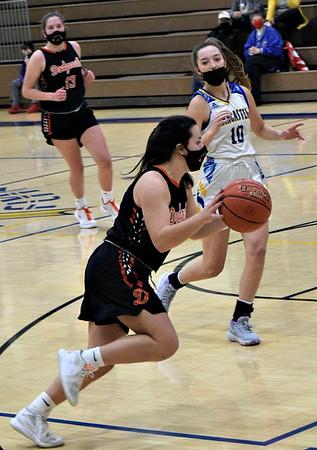 Dodgeville @ Lancaster Girls Basketball 2-9-21