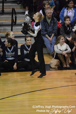 02-01-2014 Northwest HS Poms MCPS County Championship Division 1,  Photos by Jeffrey Vogt Photography & Kyle Hall