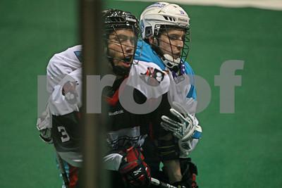 2/18/2012 - Washington Stealth @ Rochester Knighthawks - Blue Cross Arena, Rochester, NY