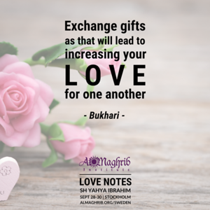 Love Notes (28-30 Sept 2018)