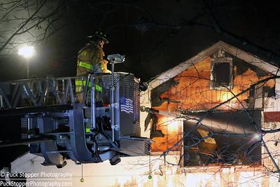 2 Alarm House Fire - 174 Blvd, Scarsdale, NY - 12/4/16