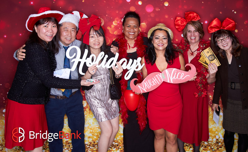 Bridge Bank Employee Holiday Party 2019