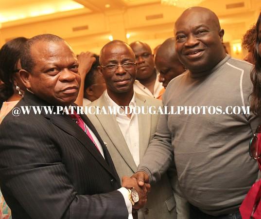 Dr. Okezie Ikpeazu - Governor of Abia State VISIT TO DC