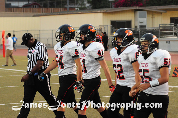 2013 Football vs Glendale 9-13