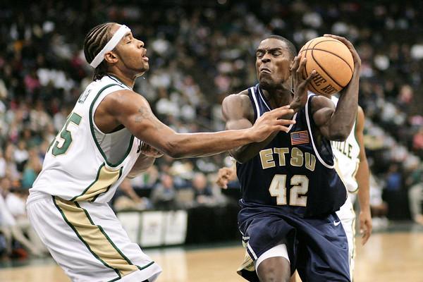 Basketball:  Jacksonville University vs. East Tennessee State