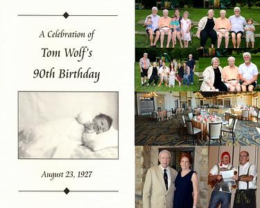 Tom 90th Birthday