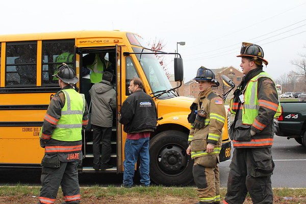 03/31/2011 - MVA w/School bus - First Colony