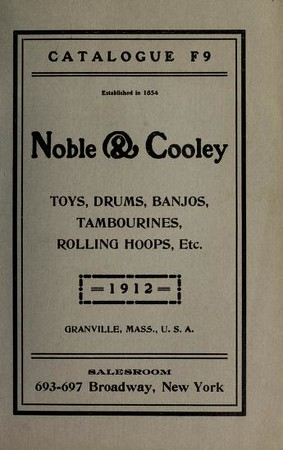 1912 Noble & Cooley Catalogue F9